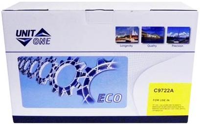 Картридж совместимый UNITON Eco C9722A (641A) желтый для HP
