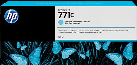 Картридж HP B6Y12A светло-голубой оригинальный