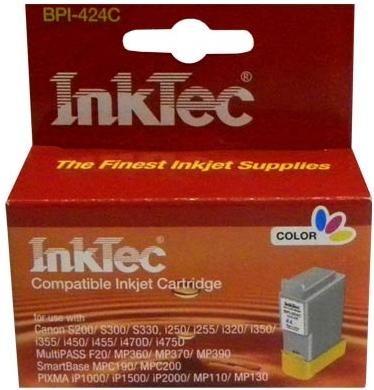 Картридж совместимый InkTec BCI-24C цветной для Canon