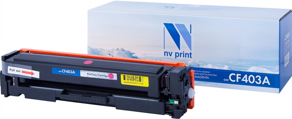 Картридж совместимый NVPrint CF403A для HP пурпурный