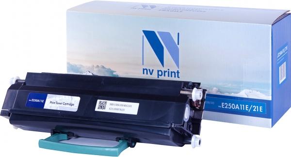 Картридж совместимый NVPrint E250A11E/21E для Lexmark