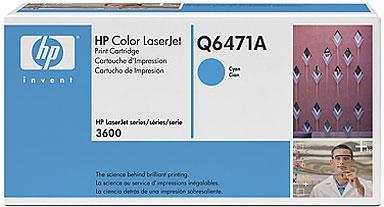 Картридж HP Q6471А голубой оригинальный