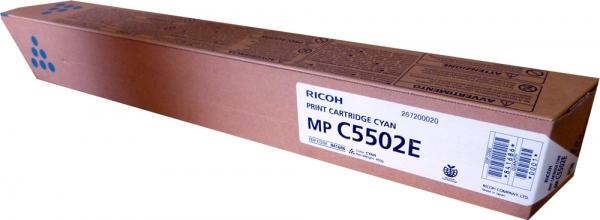 Тонер-картридж MPC5502E для Ricoh голубой