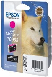 Картридж EPSON C13T09634010 пурпурный оригинальный