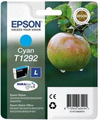 Картридж EPSON T12924010 голубой оригинальный