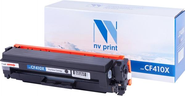 Картридж совместимый NVP CF410X черный для HP