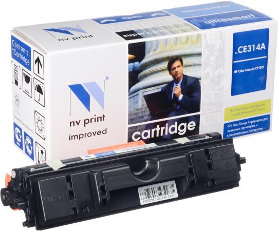 Картридж HP CE314A черный совместимый NV Print