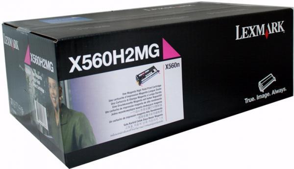Картридж Lexmark X560H2MG пурпурный оригинальный
