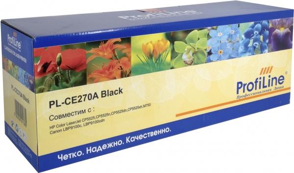 Картридж совместимый ProfiLine CE270A Black для HP
