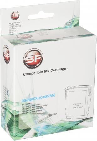 Картридж совместимый SuperFine C4907AN голубой для HP