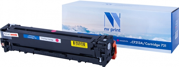 Картридж совместимый NVPrint CF213A/ CANON 731 для HP и CANON пурпурный