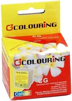 Картридж совместимый Colouring 041040 для Epson цветной