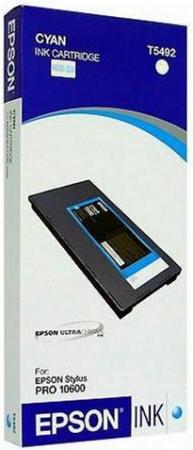 Картридж EPSON C13T549200 голубой оригинальный