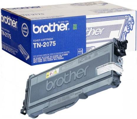Тонер-картридж Brother TN-2075 (оригинальный)