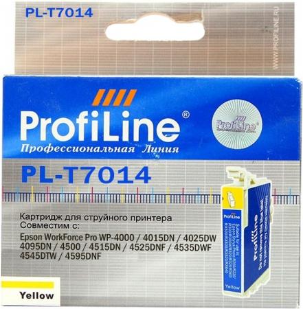 Картридж совместимый ProfiLine T7014 для Epson пурпурный желтый