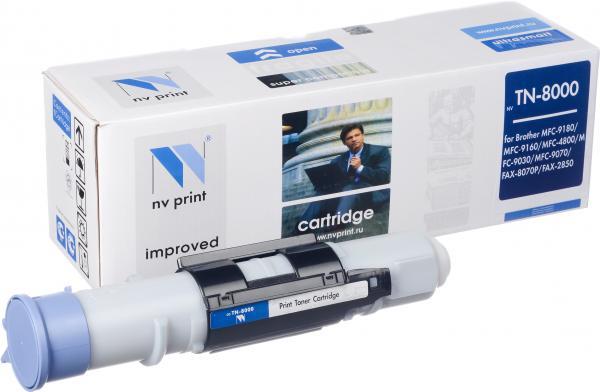 Тонер-картридж совместимый NV Print TN-8000 для Brother