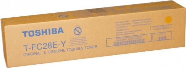 Картридж TOSHIBA T-FC28EY (6AJ00000049) желтый оригинальный