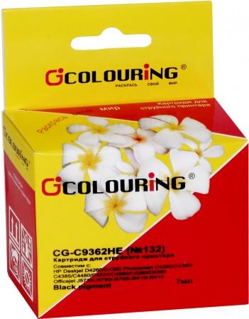 Картридж совместимый Colouring C9362HE №132 для HP черный