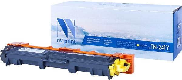 Картридж совместимый NVPrint TN-241 для Brother желтый