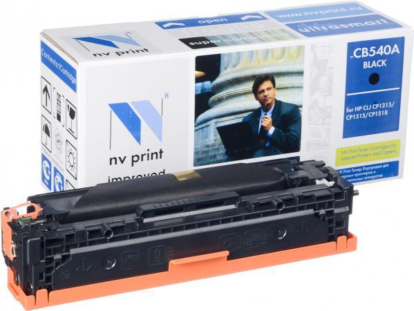 Картридж совместимый NV Print CB540A черный для HP