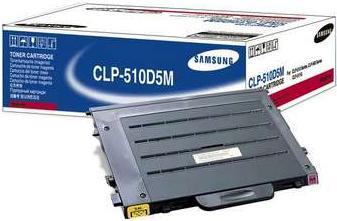 Картридж Samsung CLP-510D5M пурпурный совместимый NV Print
