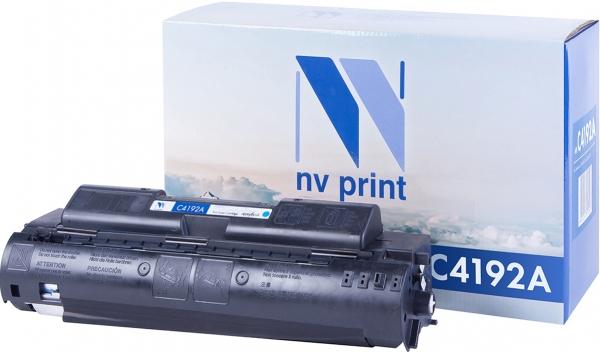 Картридж совместимый NVPrint C4192A для HP голубой