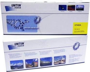 Картридж совместимый UNITON Premium CF402A (201A) желтый для HP