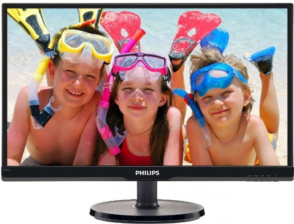 "Монитор 21.5"" Philips 226V6QSB6/00(01) Black"
