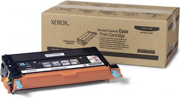Картридж XEROX 113R00719 голубой оригинальный
