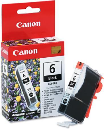 Картридж CANON BCI-6BK черный оригинальный