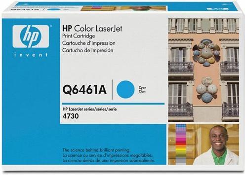 Картридж HP Q6461A голубой оригинальный