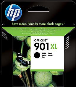 Картридж HP 901xl черный оригинальный