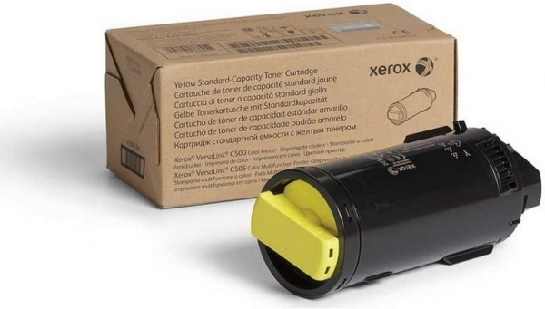 Тонер-картридж XEROX 106R03487 желтый оригинальный