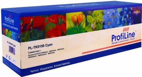 Картридж совместимый ProfiLine TK-5150C голубой для Kyocera