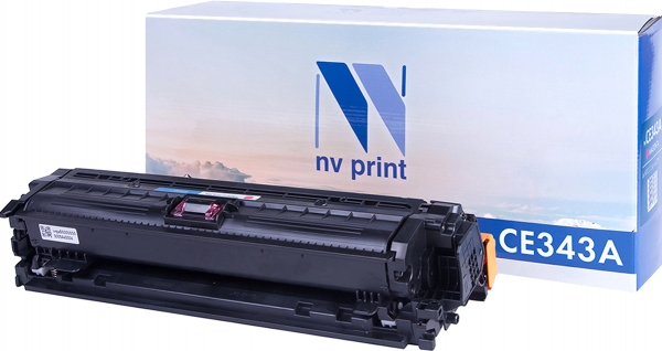 Картридж совместимый NV Print CE343A пурпурный для HP