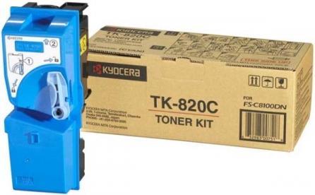 Картридж Kyocera TK-820C голубой оригинальный