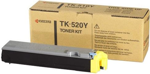 Картридж Kyocera TK-520Y желтый оригинальный