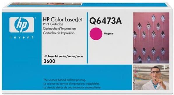 Картридж HP Q6473А пурпурный оригинальный