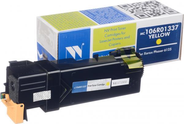 Картридж Xerox 106R01337 желтый совместимый NV Print