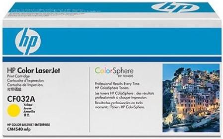 Картридж HP CF032A (646A) желтый оригинальный