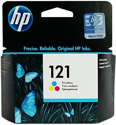 Картридж HP CC643HE трехцветный оригинал