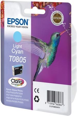 Картридж EPSON C13T08054011 светло-голубой оригинальный