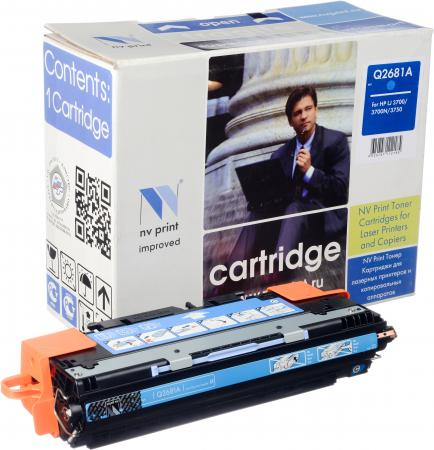 Картридж совместимый NV Print Q2681A голубой для HP