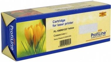 Картридж совместимый ProfiLine 106R01337 желтый для Xerox