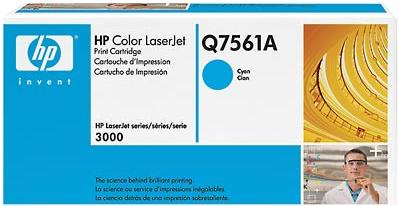 Картридж HP Q7561А голубой оригинальный