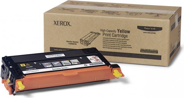 Картридж XEROX 113R00725 желтый оригинальный