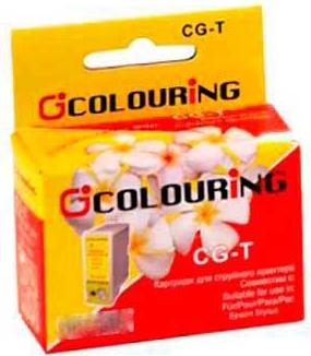 Картридж совместимый Colouring LC1000Y/LC970Y для Brother желтый