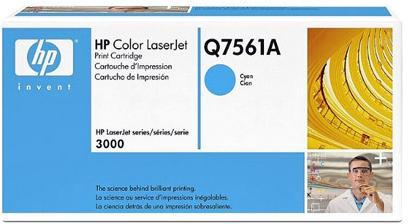Картридж HP Q7561A голубой оригинальный