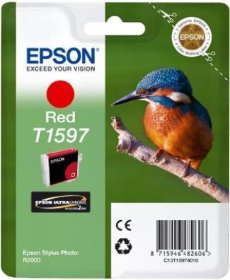 Картридж EPSON T15974010 красный оригинальный