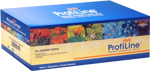 Картридж совместимый ProfiLine CE322A Yellow для HP